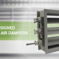 The Benefits of Custom-Designed Industrial Air Dampers